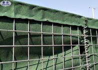 Flood Control Sand Filled Barriers High Tensile Hesco Bastion Wall