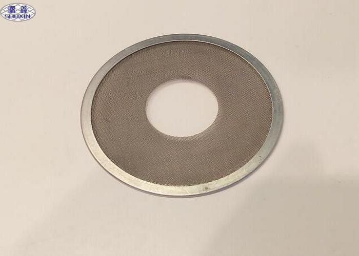 304 Stainless Steel Filter Disc , Microns Porous Woven Wire Mesh Filter Disc