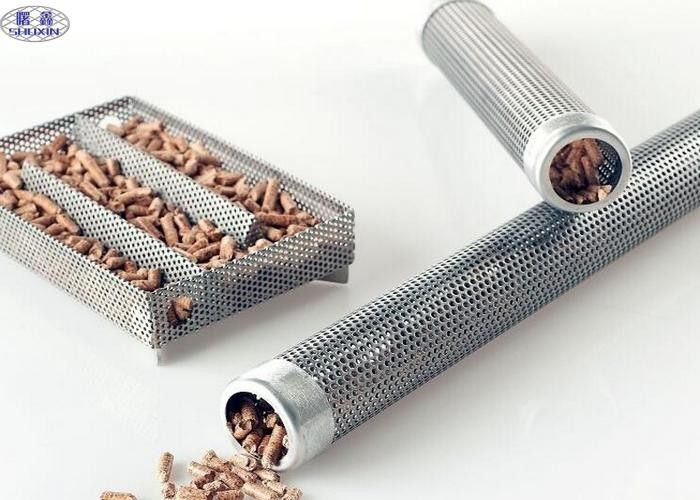 Corrosion Resistance Stainless Steel Smoker Tube Silver Pipe For Gas Burner