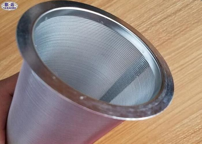 20 Micron Reusable Coffee Filter AISI Stainless Steel Manual Cylinder Wire Mesh